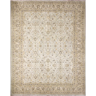 Lindsay Light Blue Hand-Knotted Rug (8'5 x 10'1)