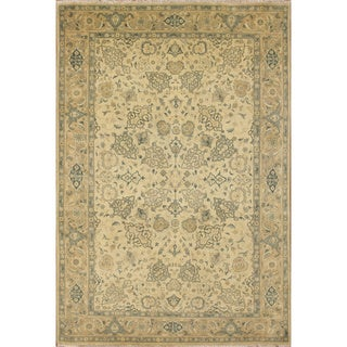 Dwight Ivory Hand-Knotted Rug (6'1 x 9'0)
