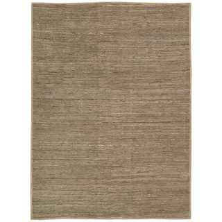 Stone Laundered Nature Area Rug by Nourison (5'3 x 7'5)