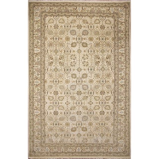 Grayson Ivory Hand-Knotted Rug (8'3 x 13'7) - 8'3 x 13'7