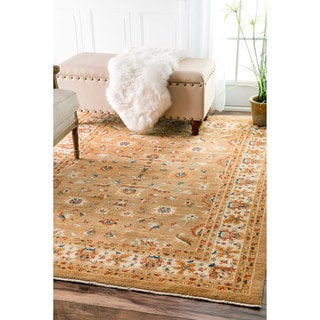 nuLOOM Traditional Persian Timeless Orchard Ivory Rug (2'7 x 4')
