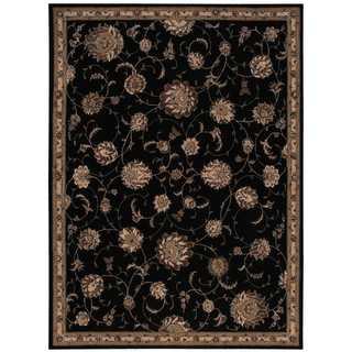 Michael Amini by Nourison Serenade Black Rug (8' x 11')