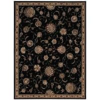 Michael Amini by Nourison Serenade Black Rug (8' x 11') - 8' x 11'
