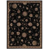 Michael Amini by Nourison Serenade Black Rug - 8' x 11'