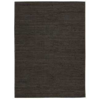 Joseph Abboud Stone Laundered Espresso Area Rug by Nourison (8' x 10')