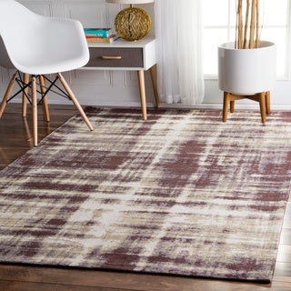 nuLOOM Contemporary Casual Overdyed Taupe Rug (7'6 x 9'6)