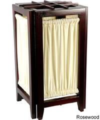 Handmade 18-inch Marupa-wood One-bulb Helsinki Shoji Lamp (China)