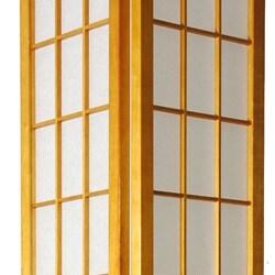 Handmade Windowpane Shoji Floor Lamp (China)