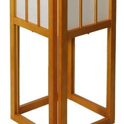handmade windowpane shoji floor lamp (china) - free shipping today