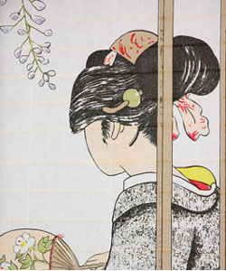 Geisha Shoji Screen (China)