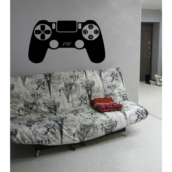 Computer games joystick a game Wall Art Sticker Decal