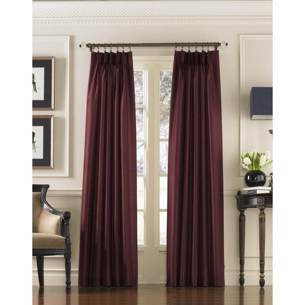scaled online pleat pinch wonderland products blockout buy curtains curtain damask