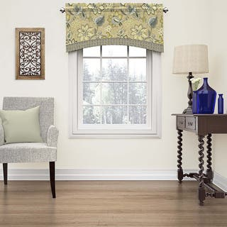 Waverly Brighton Blossom Arched Cotton Window Valance|https://ak1.ostkcdn.com/images/products/11762736/P18676878.jpg?impolicy=medium