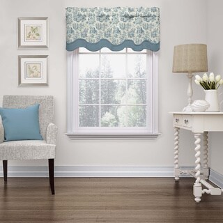 Waverly Charmed Life Wave Window Valance (2 options available)