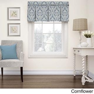 Waverly Donnington Box Pleat Window Valance - 52x18