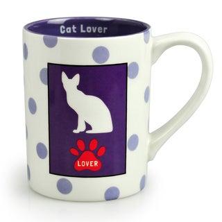 Kityu Gift Cat Lover Ceramic 16-ounce Mug