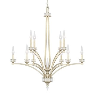 Capital Lighting Olivia Collection 10-light Winter Gold Chandelier