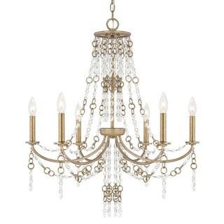 Capital Lighting Ava Collection 6-light Sable Chandelier