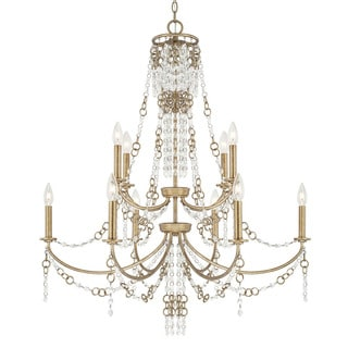 Capital Lighting Ava Collection 10-light Sable Chandelier