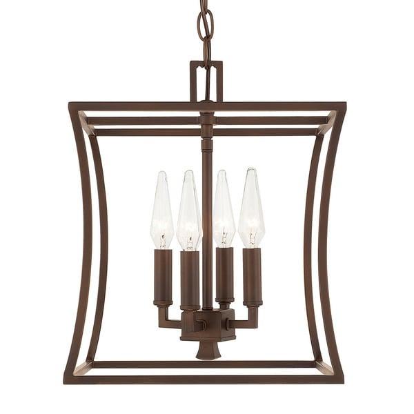 Foyer Lighting Overstock : Capital lighting westbrook collection light burnished