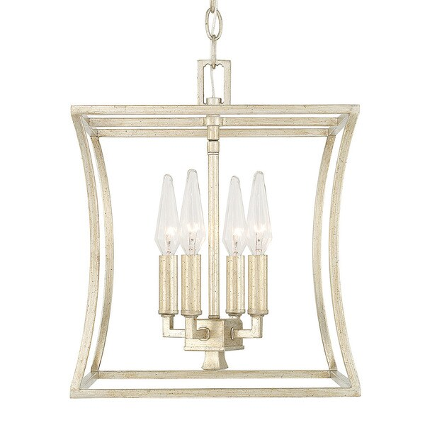 Capital Lighting Westbrook Collection 4 Light Winter Gold Foyer Fixture N A