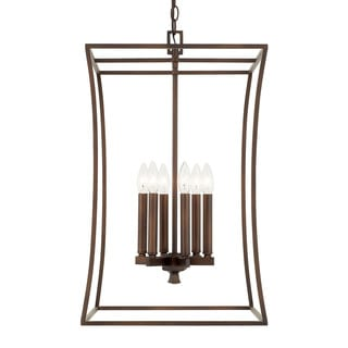 Capital Lighting Westbrook Collection 6-light Burnished Bronze Foyer Fixture