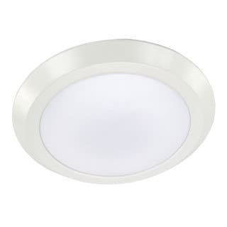 HomeSelects White 15-watt Integrated LED Disk Light