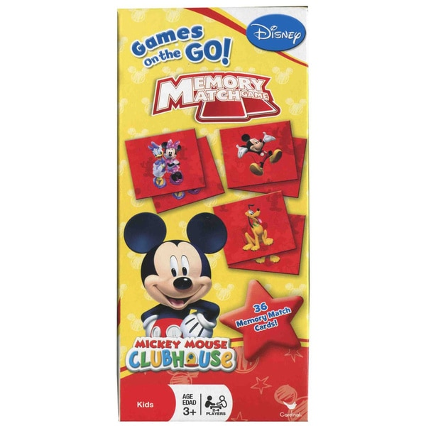 Disney Mickey Mouse Tower Memory Match Game
