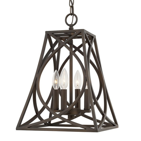 Traditional Foyer Light Fixtures : Shop capital lighting traditional light old bronze foyer