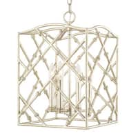 Capital Lighting Traditional 4-light Winter Gold Foyer Fixture
