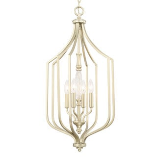 Capital Lighting Seaton Collection 4-light Soft Gold Foyer Fixture