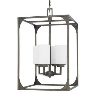 Capital Lighting Flynn Collection 4-light Gunmetal Foyer Fixture
