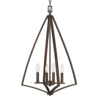 Capital Lighting Boden Collection 4-light Burnished Bronze Foyer Fixture