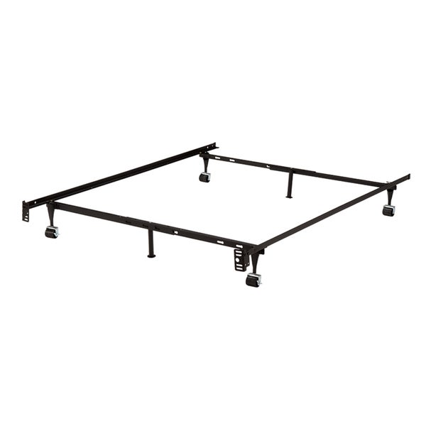 K B B9001 Iron Steel 125inch Bed Frame With 2piece Center