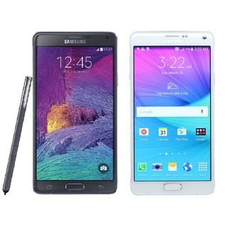 Samsung Galaxy Note 4 N910v 32GB Verizon + Unlocked GSM 4G LTE Smartphone + S Pen Stylus