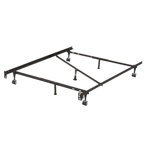 K&B B9122 Commercial-grade T/F/Q Adjustable Bed Frame