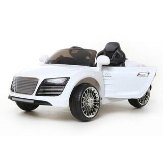 Best Ride On Car Super R10 12-volt White Ride-on Vehicle