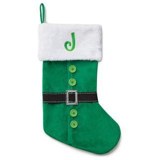 Personalized Elf Coat Stocking