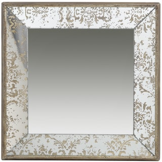 Antique Two-tone Tray Mirror - A