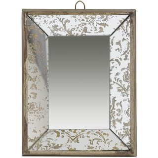 Gold Glass Tray Mirror