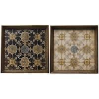 Decorative Trays (Set of 2)