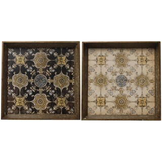 Decorative Trays (Set of 2)