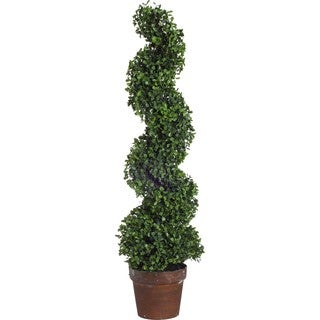 Silk Boxwood Tree