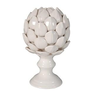 Albinia Small Porcelain Artichoke