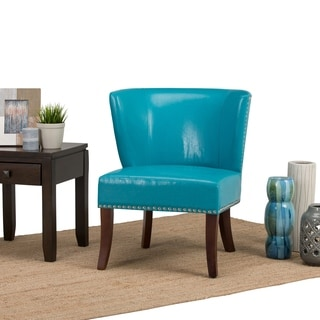 WYNDENHALL Brennan Bonded Leather Accent Chair