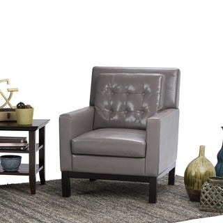 WYNDENHALL Cassidy Bonded Leather Club Chair