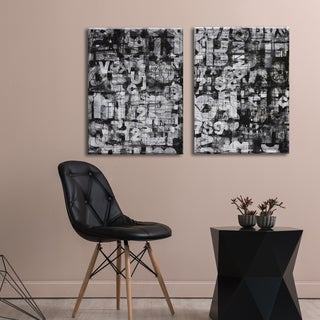 Ready2HangArt 'Street Wise I/II' by Norman Wyatt Jr. 2-piece Wrapped Canvas Set