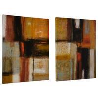 Ready2HangArt 'New Earth I/II' by Norman Wyatt Jr. 2-piece Wrapped Canvas Set