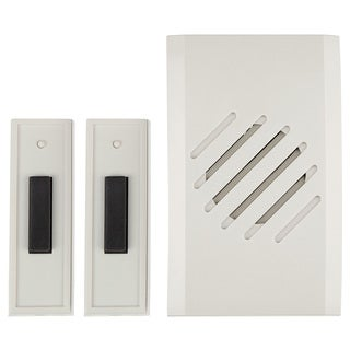 Carlon Lamson & Sessons RC3732D White Wireless Plug-In Doorbells