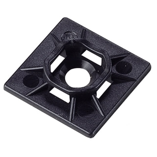 GB Gardner Bender 45-MBUVB Black Mounting Base For Cable Ties